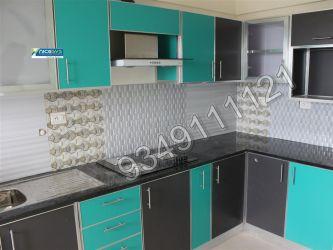 Nicesys aluminium interiors for Modular kitchen designs aluminium